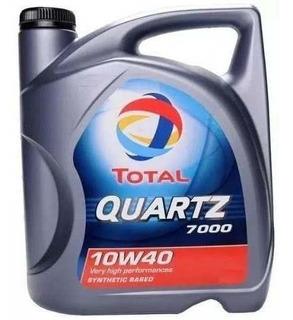 Aceite Motor Total Quartz 7000 Nafta 10w40 Peugeot Original