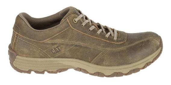 Cat Zapato De Hombre Cuero Engrasado Eon