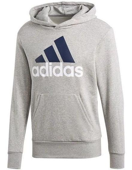 Blusa De Moletom adidas Essentials Linear Pullover C/ Capuz