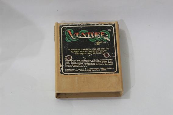 Jogo Venture Para Atari 2600 Coleco Usa 1981 Frete R$10