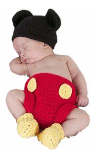 ® Recién Nacido Fotografía Prop Baby Costume Crochet Mo...