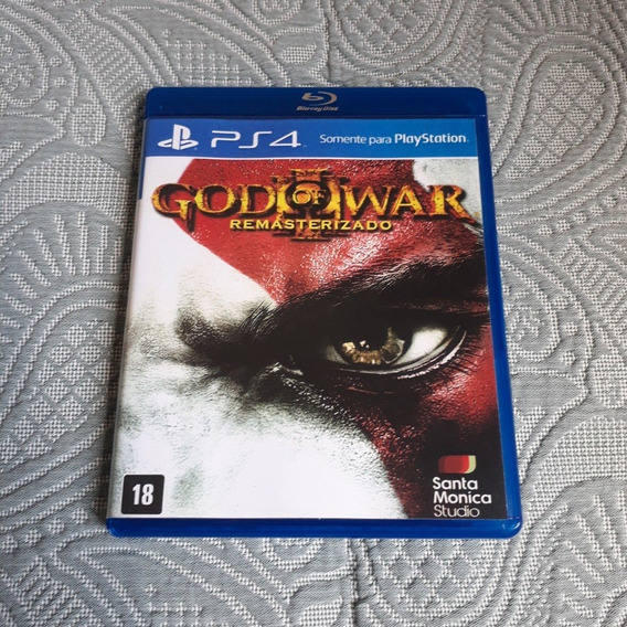 God Of War 3 - Ps4 - Midia Fisica