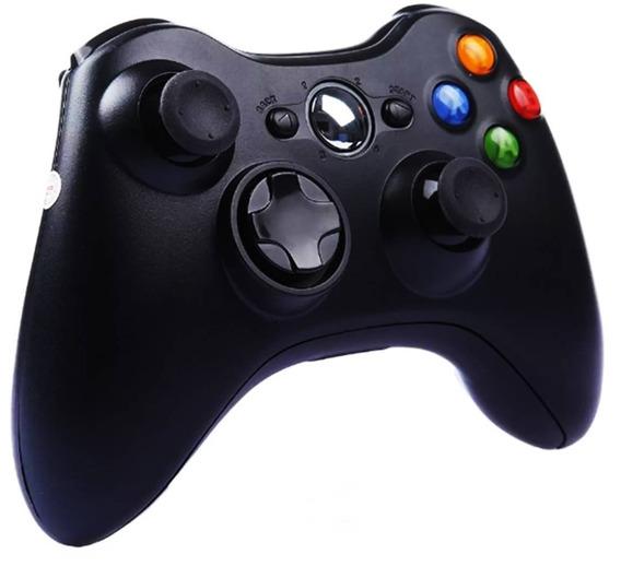 Kit 2 Controle Manete Sem Fio Xbox 360 Joystick Wireless