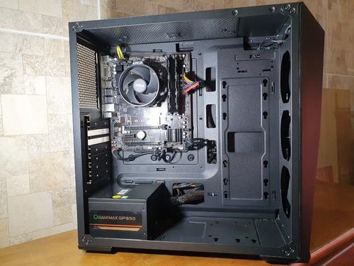 Imagem 1 de 6 de Pc Gamer / Ryzen 2400g / 16g Ram / Ssd 240g / Radeon Vega 11