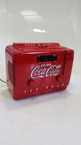 Mini Radio Cooler Coca Cola Original