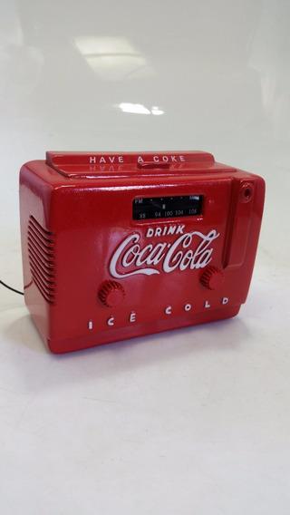 Mini Radio Cooler Coca Cola Original