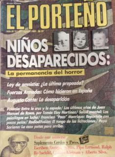 6 Revistas El Porteño Decada Del 80