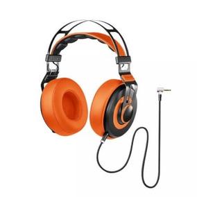 Headphone Premium Wired Large Laranjaoriginal Confortavel