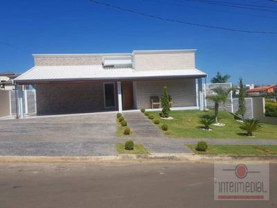 Chácara Com 4 Dormitórios À Venda, 1000 M² Por R$ 1.000.000 - Portal Dos Lagos - Boituva/sp - Ch0564