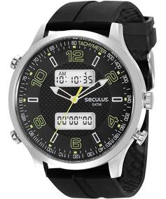 Relógio Seculus Masculino Esportivo