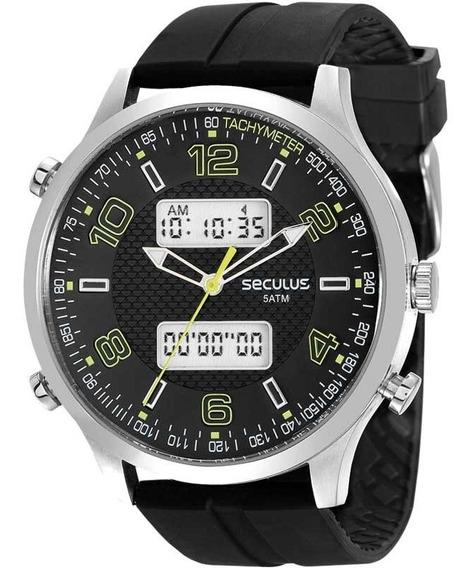 Relógio Seculus Masculino Esportivo - Original