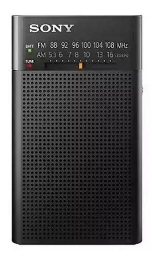 Rádio Portátil Mini Bolso Original Sony Pilhas Am/fm Icf-p26