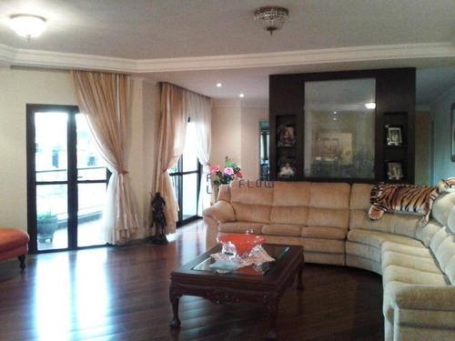 Apartamento 490m², 3 Dormitorios, 3 Suíte, 5 Vagas - Bosque Da Saúde - Ap10186