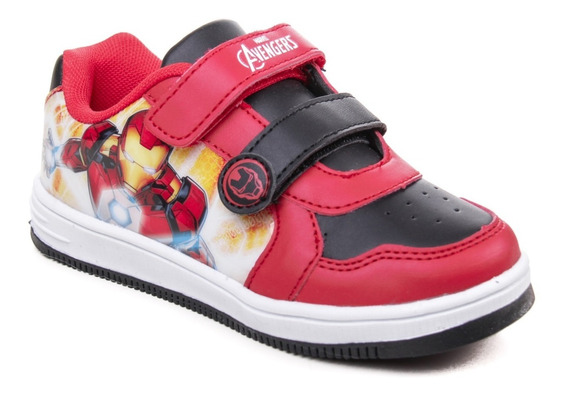 Zapatillas Marvel The Avengers Niños Nenes Urbano Iron Man