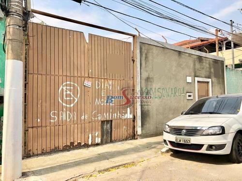 Imagem 1 de 6 de Terreno À Venda, 500 M² Por R$ 1.230.000,00 - Vila Invernada - São Paulo/sp - Te0450
