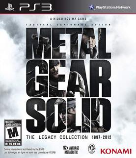 Juego Metal Gear Solid Legacy Collection Para Playstation 3