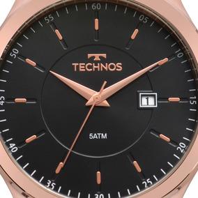 Relogio Technos Masculino Couro - 2115mps/2p