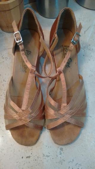 Very Fine Zapatos De Baile 3.5 O 4 Mexicano.