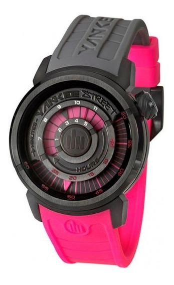 Relógio Yankee Street Feminino - Ys38196w - Cor Preto/rosa