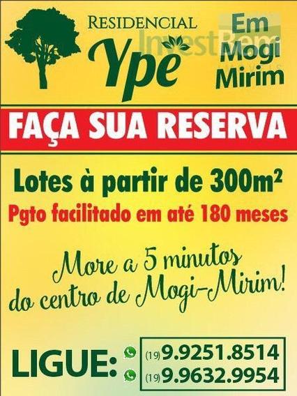 Terreno Residencial À Venda, Jardim Planalto, Mogi Mirim. - Te0130