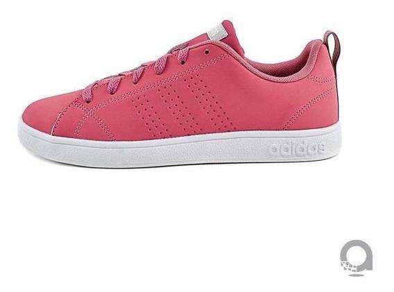 Tenis adidas Advantage - Rosa - Niña - B42305