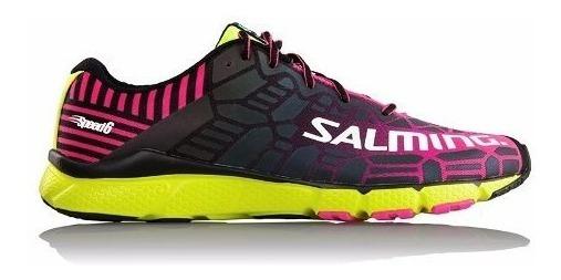 Zapatillas De Mujer Salming Running Mujer Speed 6 Reflectiva