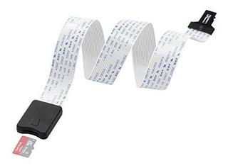Lanmu 48cm Tf A Micro Sd Tf Flex Zip Cable De Extensión Adap
