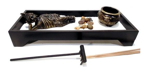 Jardim Zen Nirvana Buda Deitado Mod 15010