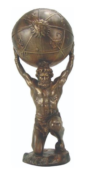 Atlas Deus Grego - Estatueta - Mitologia Grega- Titã