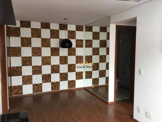 Apartamento Com 2 Dormitórios Para Alugar, 49 M² Por R$ 1.350,00/mês - Centro - Guarulhos/sp - Ap0859