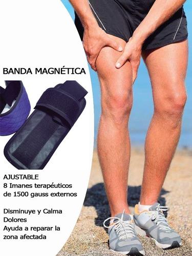 Imagen 1 de 6 de Bandas Para Brazos Y Piernas Terapias Magnéticas