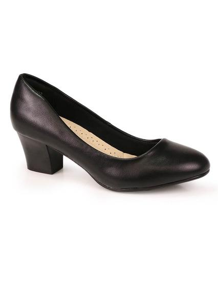 Sapato Salto Grosso Facinelli