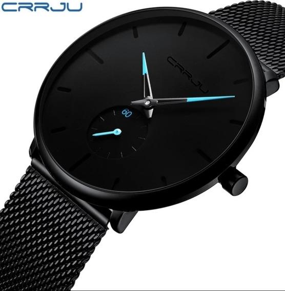 Relógio Masculino Casual Ultra Fino Esporte Luxo Ccrju.