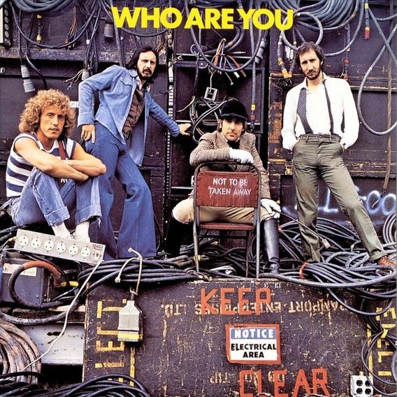 Lp The Who Who Are You Vinil 180g Lacrado Importado Novo