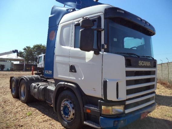 Scania R124 360 6x4 Ano 2004