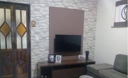 Imagem 1 de 15 de Casa Com 4 Dormitórios À Venda, 174 M² Por R$ 425.000,00 - Parque João Ramalho - Santo André/sp - Ca0827