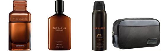 Kit The Blend Eau De Parfum, Des.,shower Gel E Necessaire