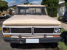 Caminhão Ford F4000 Motor Mwm Direção Hidráulica Ano 1974