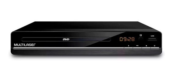 Dvd Player Multilaser 3 Em 1 Multimídia Usb Sp252.