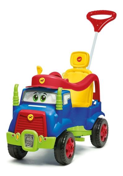Carrinho De Passeio E Pedal Mk Truck - Azul - Calesita 982