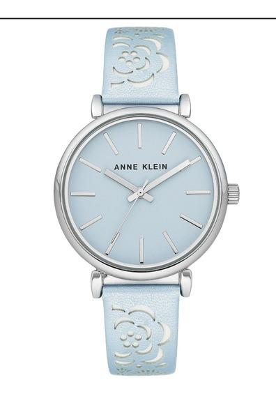 Reloj Anne Klein Dama Original Azul