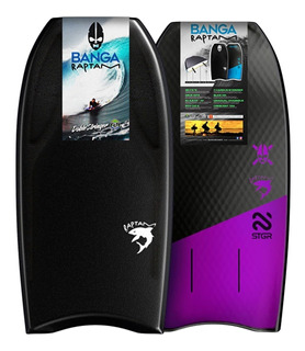 Bodyboard Banga Raptam Con Doble Stringer De Carbono