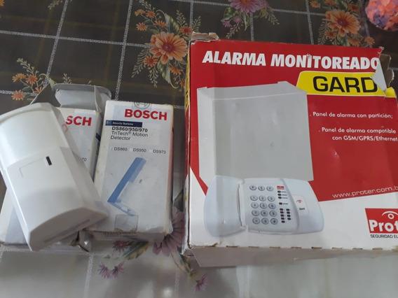 Kit Central De Alarme Gard 4 Proter Monitorada 4 Setores