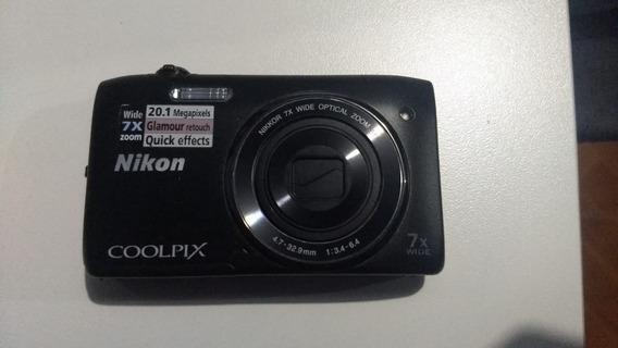 Câmera Digital Nikon Coolpix S3400