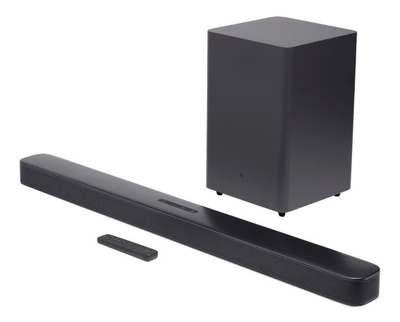 Soundbar Jbl Bar21dbblkbr 2.1 Canais 206w Bluetooth Hdmi Usb
