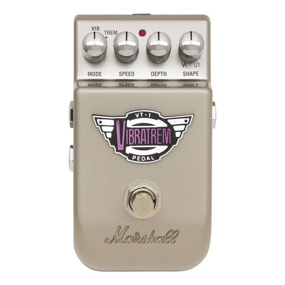 Pedal Marshall Vt-1 Vibratrem C/ Bypass Passivo P/ Guitarra