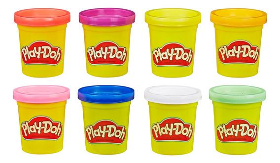 Massa De Modelar - Play Doh - 8 Potes Clássicos - Hasbro