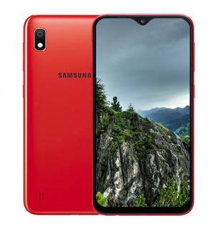 Celular Samsung A10 32gb Azul - Rojo