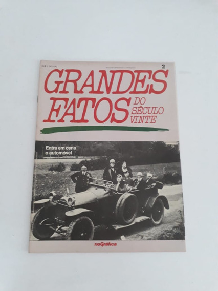 Revista Grandes Fatos Do Século Vinte!!!