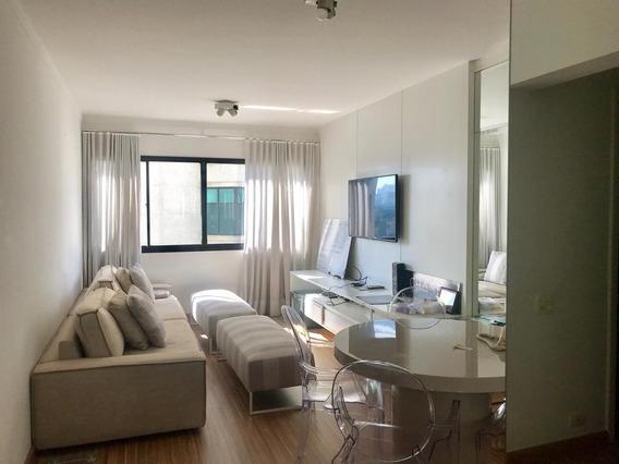 Flat Com 2 Dormitórios À Venda, 45 M² Por R$ 850.000 - Bairro Itaim Bibi - Forte Prime Imoveis-sp - Fl0461